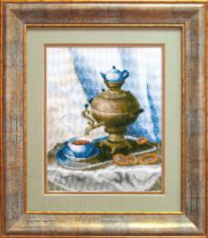 """Набор для вышивки крестиком Чарівна Мить №488 """"Приглашение к чаю"""""""