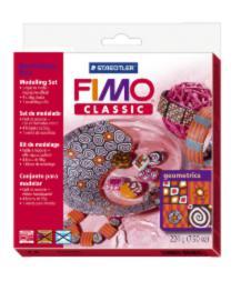 8003/30/L1 Набор FIMO Classic для мастер-класса «Геометрические фигуры» 4x56г