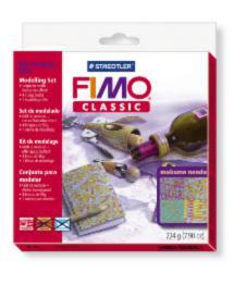 8003/32/L1 Набор FIMO Classic для мастер-класса «Мокуме гане» 4x56г
