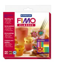 8003/33/L1 Набор FIMO Сlassic для мастер-класса «Переход цветов» 4x56г