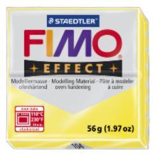 104/8020 Полимерная глина FIMO Effect, прозрачный желтый (56г) STAEDTLER
