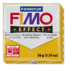 112/8020 Полимерная глина FIMO Effect, с блестками золото (56г) STAEDTLER