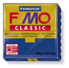33N/8000 Полимерная глина FIMO Classic, ультрамарин, (56г) STAEDTLER