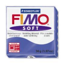 33/8020 Полимерная глина FIMO Soft, синий (56г) STAEDTLER